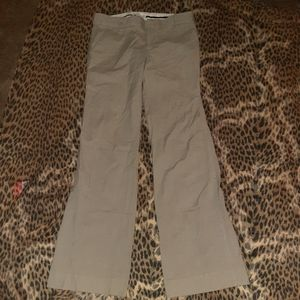Designer pants size 4 Gap